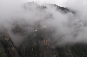 The Tiger's Nest in the Clouds.
