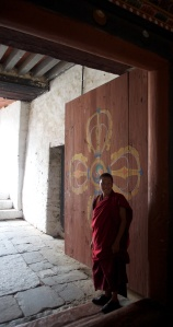 Monk in Kurjey.