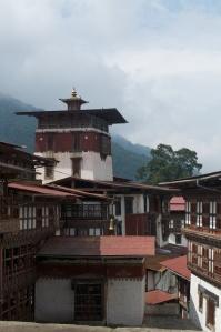 Interior view: Trongsa Dzong.