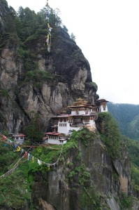 Taktsang Temple near Paro, Bhutan