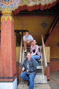 At Paro Dzong