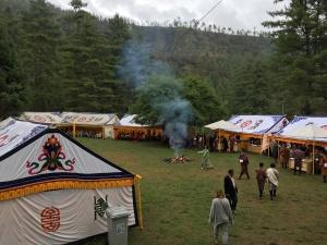 Tea and Food Served on Site