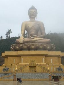 The Buddha Above Thimphu