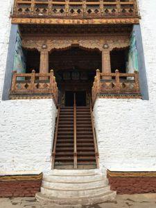 Interior Stairs, Punakha Dzong