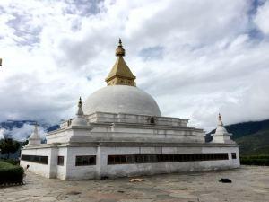 The Stupa at Sangchen Nunnery