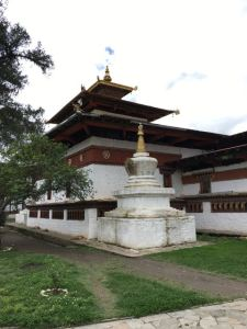 Back, Exterior, Kyechu Lhakhang temple
