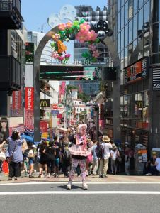 Harajuku in all its glory.